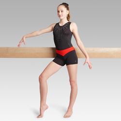 Short rojo 500 gimnasia artística femenina