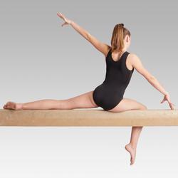 Justaucorps sans manche noir 500 Gymnastique Artistique Féminine
