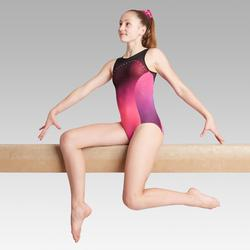 Justaucorps sans manche rose 900 Gymnastique Artistique Féminine