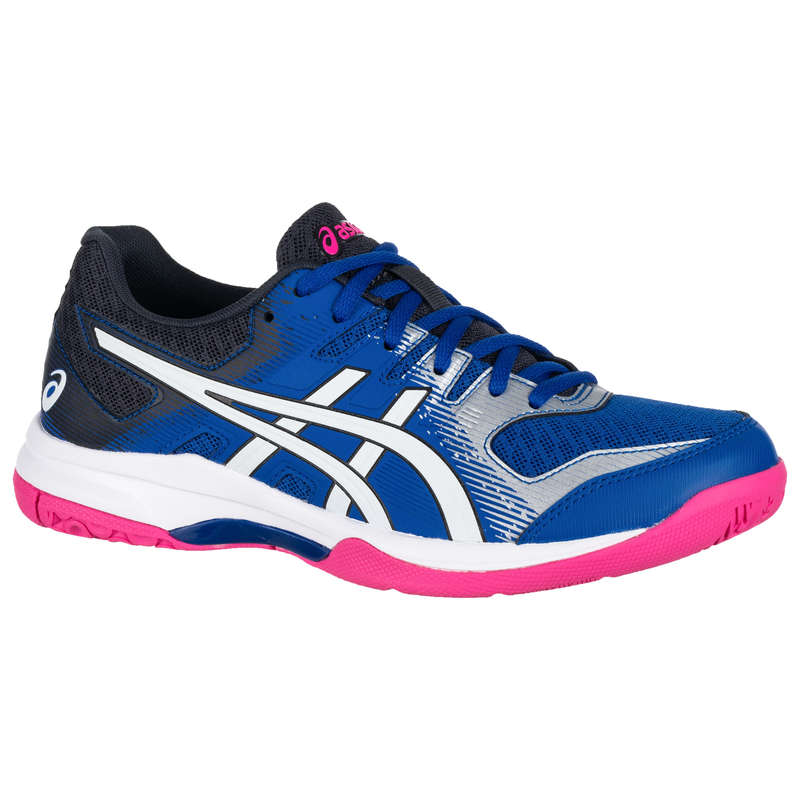WOMEN'S INTERMEDIATE BADMINTON SHOES Table Tennis - Indoor Court Shoes - Gel Rocket 9 ASICS - Table Tennis
