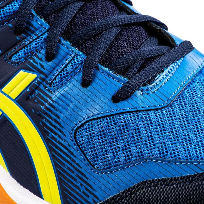 Zapatillas de BÁDMINTON Y SQUASH Asica Gel Rocket 9 hombre azul y amarillo