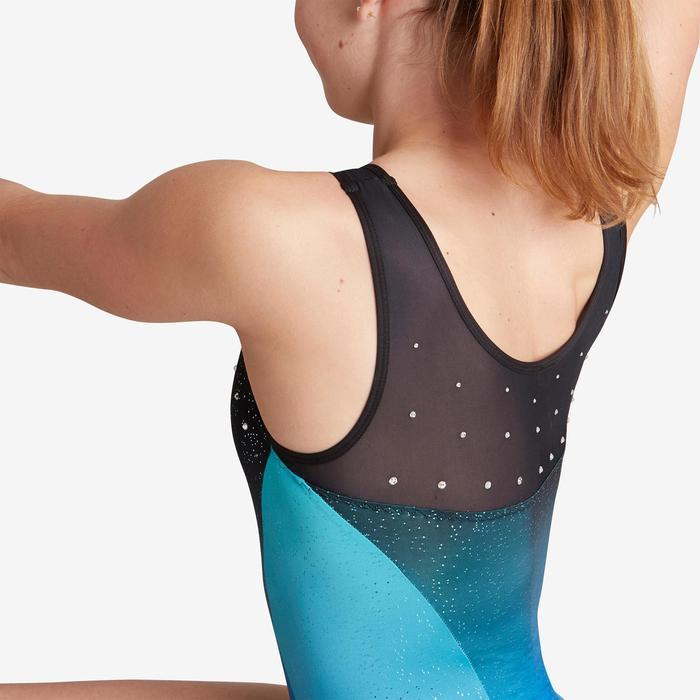 Justaucorps sans manche vert 900 Gymnastique Artistique Féminine