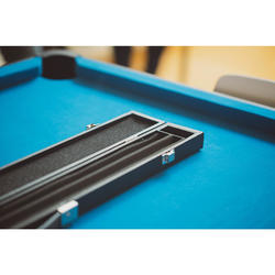 Rigid Black Case for 3/4 Jointed Billiards Cue