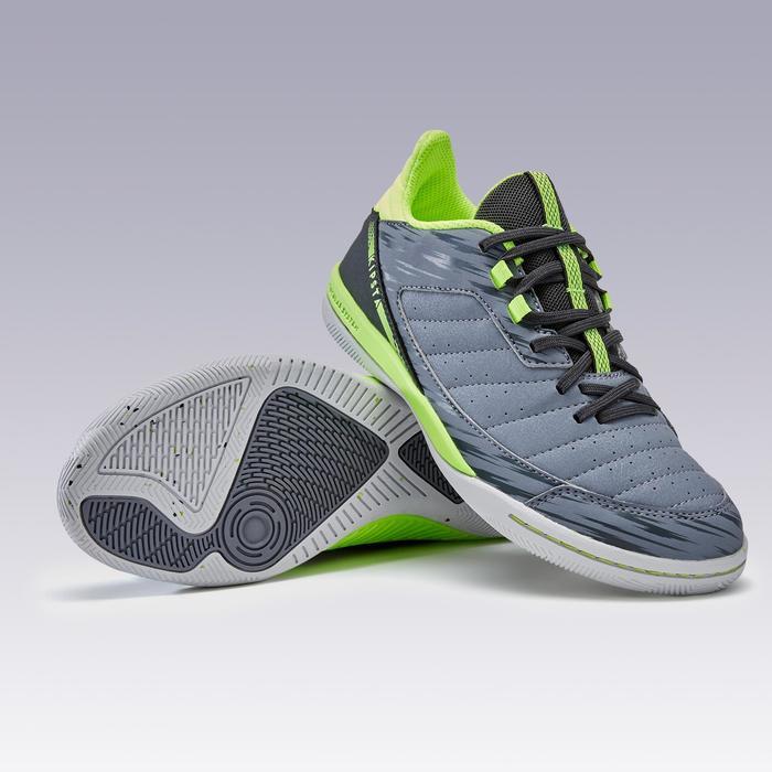 Zapatillas de Fútbol sala ESKUDO 500 JR gris