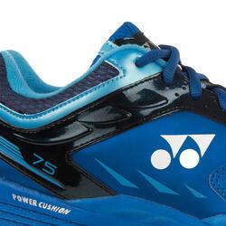 Badminton/squash schoenen SHB-75 EX blauw - 168512