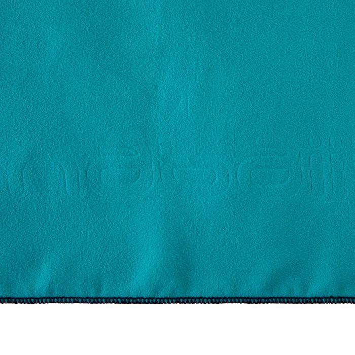 Serviette microfibre bleu S 42 x 55 cm