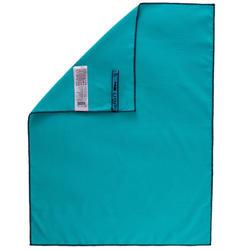 Toalla Azul Microfibra Talla S 42 x 55Cm
