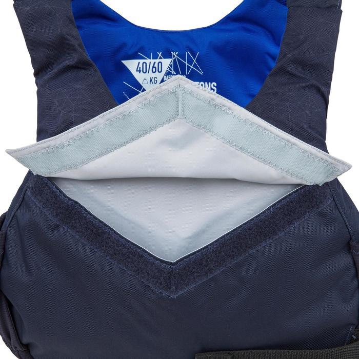 Zwemvest voor open boot zeilen 50 N 500 donkerblauw
