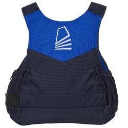 Zwemvest 50N Zeilen Dinghy 500 donkerblauw