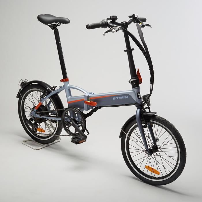 Elektrische vouwfiets Tilt 500 E grijs/oranje