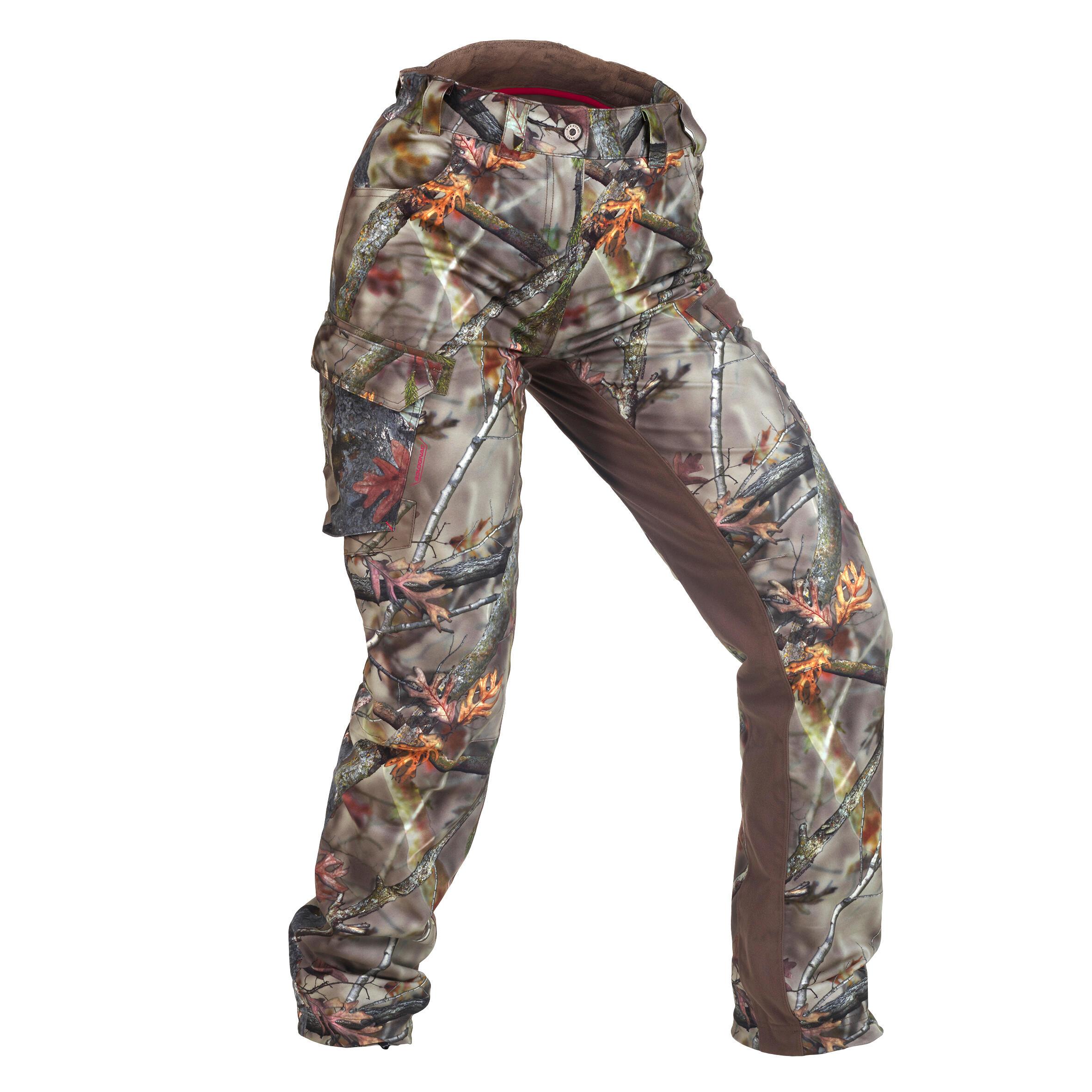 Pantalon 500 Camuflaj Damă