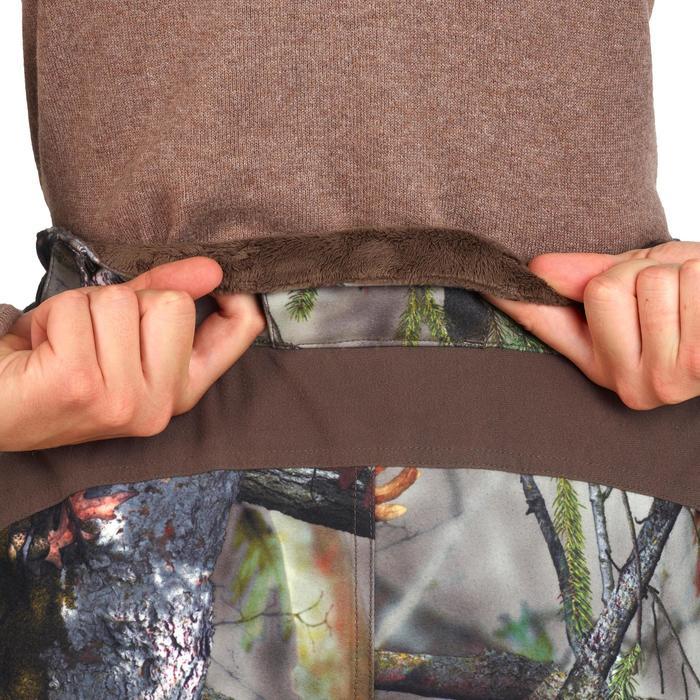 Warme en waterdichte jachtbroek voor dames camouflage 500