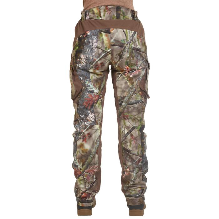 JAGDHOSE DAMEN WARM & WASSERDICHT CAMOUFLAGE 500 Winter