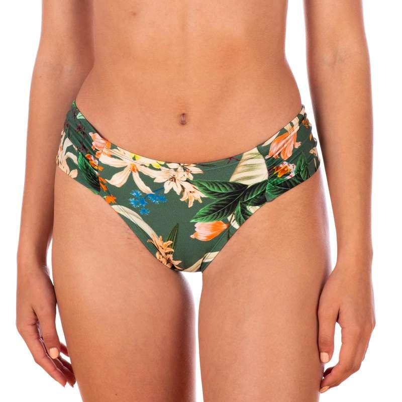 Bikinis Mulher nível principiante Papagaios, Kitesurf - Cueca Bikini Brasil Franzida NO BRAND - Bikinis, Calções, Chinelos e Toalhas