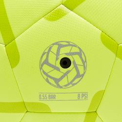 Ballon de Foot5 Junior Society 100 taille 3 Jaune / Vert