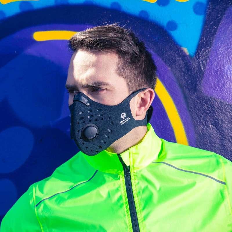 ANTIPOLLUTION AND WARM MASKS Maski antysmogowe i filtry - Maska antysmogowa Sport 700 BROYX - Butiki