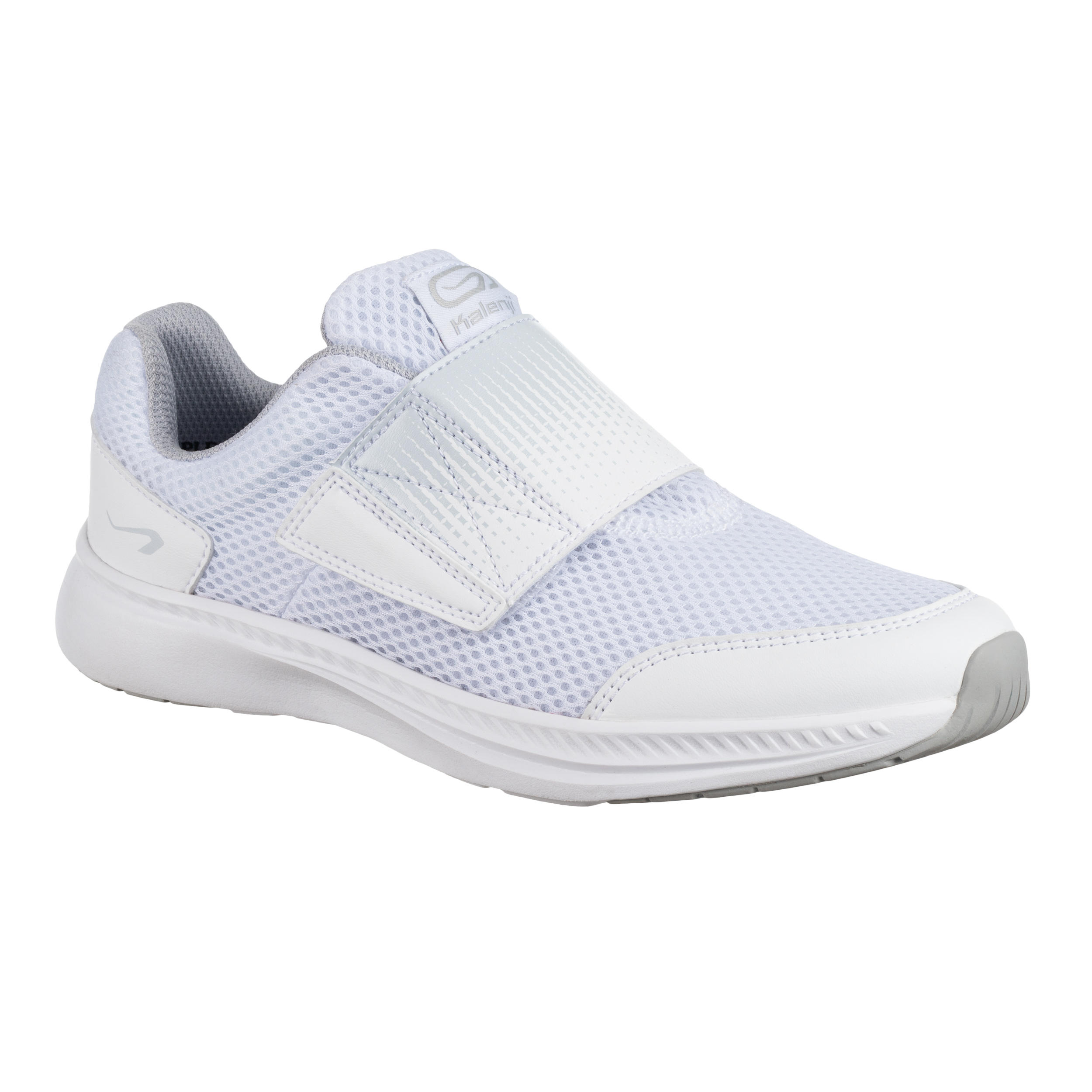 At Easy Kid S Athletics Shoes White Decathlonb2b