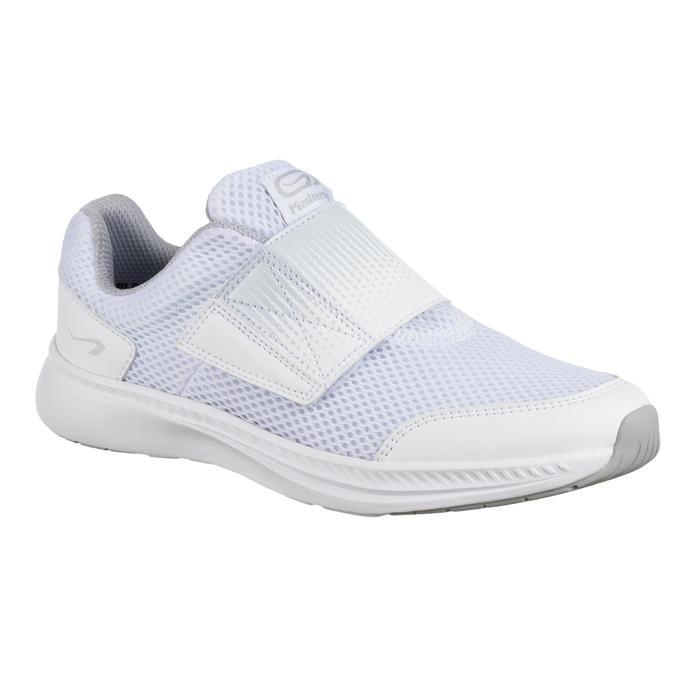 Zapatillas Atletismo Running Kalenji AT Easy Niños Blanco