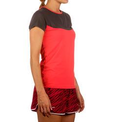 Artengo dames-T-shirt Soft Graph voor tennis, badminton, tafeltennis, padel grn - 168568