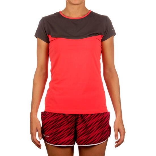 Artengo dames-T-shirt Soft Graph voor tennis, badminton, tafeltennis, padel grn - 168571