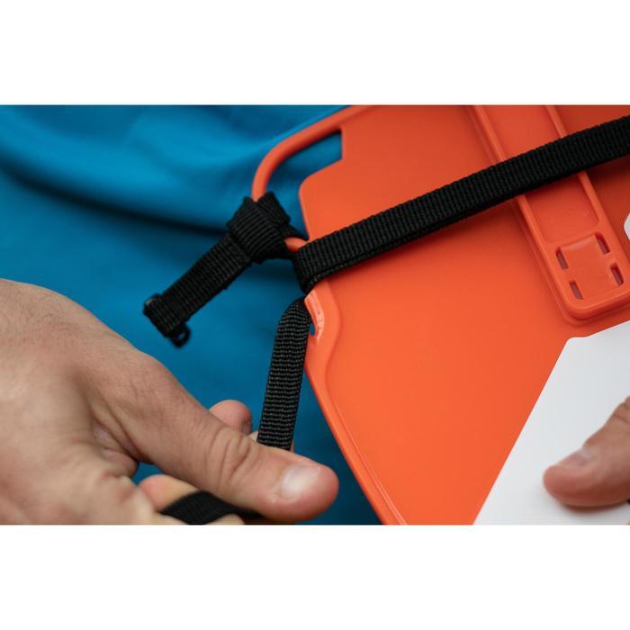 Kit de 10 balises de course d'orientation avec poinçon intégré