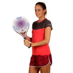 Artengo dames-T-shirt Soft Graph voor tennis, badminton, tafeltennis, padel grn - 168574