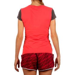 Artengo dames-T-shirt Soft Graph voor tennis, badminton, tafeltennis, padel grn - 168576