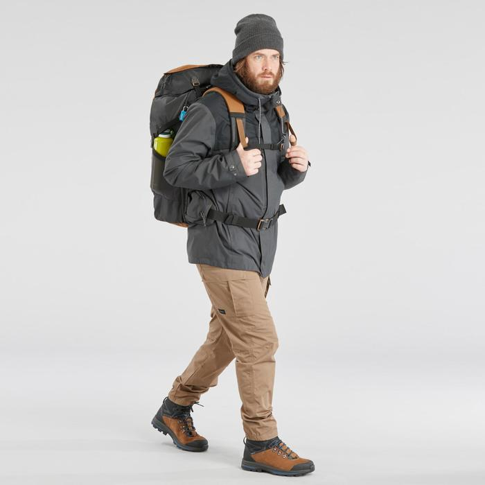 3-in-1 herenjas voor backpacking Travel 100 grijs