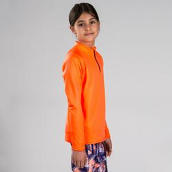 Sportshirt Langarm Essential Kinder orange