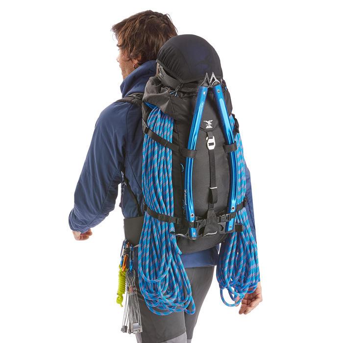 Bergsteiger-Rucksack Alpinism 33 schwarz