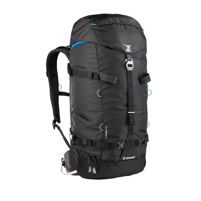 Rugzak Alpinisme 33 grijs zwart
