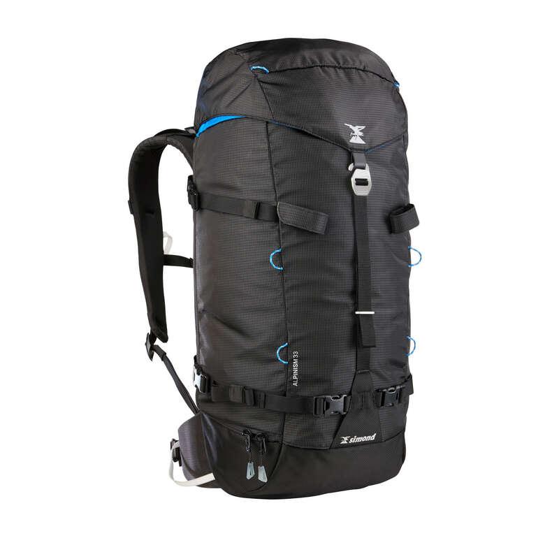 MOUNTAINEERING & BIG WALL BACKPACKS Bags - ALPINISM 33 Backpack Black SIMOND - Bags