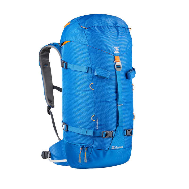 MOUNTAINEERING & BIG WALL BACKPACKS Bags - ALPINISM 33 backpack Blue SIMOND - Bags