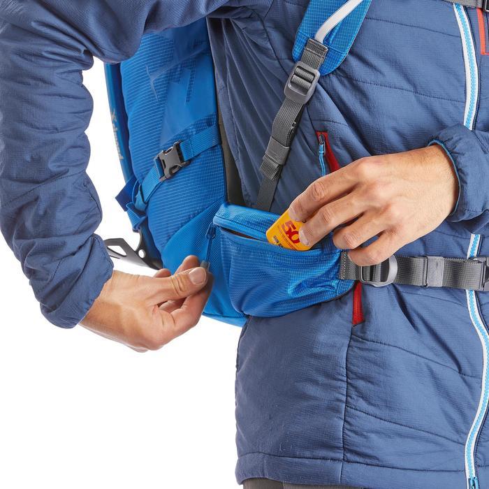 Bergsteiger-Rucksack Alpinism 33 blau