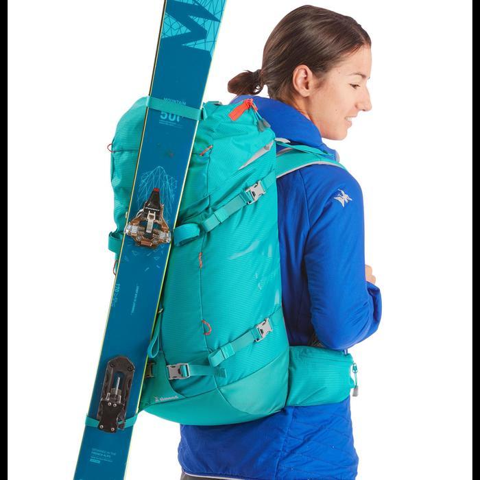 Sac à dos d'alpinisme 33 litres - ALPINISM 33 Turquoise