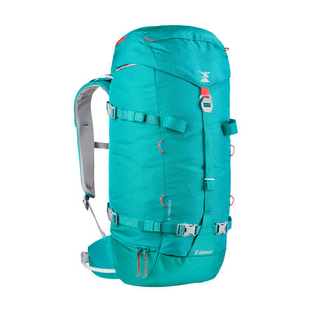 Mountaineering Backpack 33 Litres - Alpinism 33 Turquoise