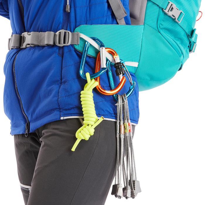 Mochila de alpinismo ALPINISM 33 Turquesa