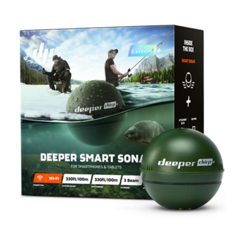 ЭХОЛОТЫ Рыбалка - DEEPER SMART SONAR CHRIP + DEEPER - Спиннинговая ловля