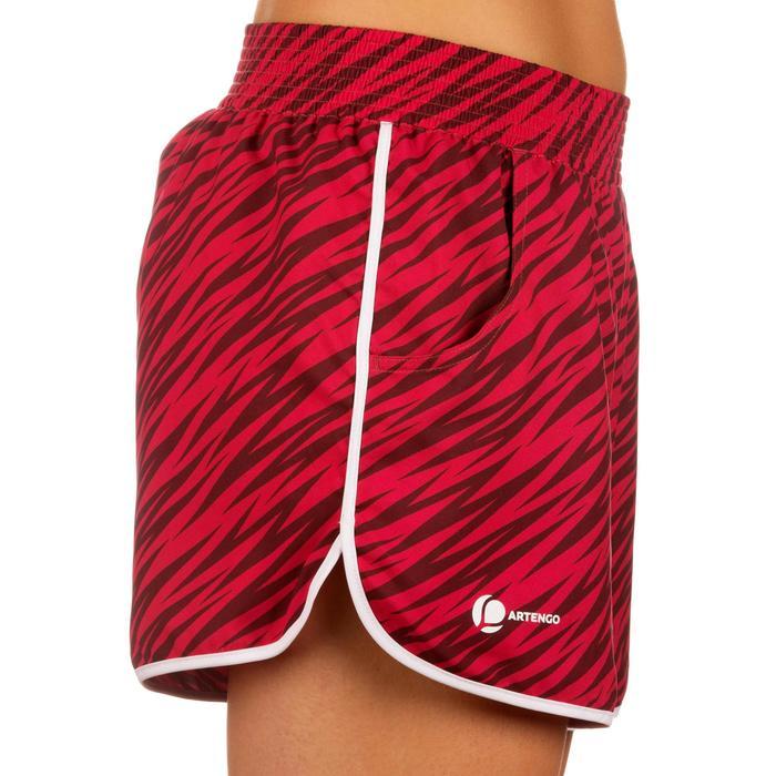Shorts Soft Tennishose Damen Print rosa