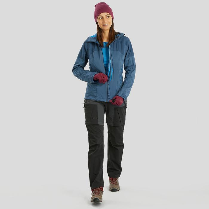Convertible mountain trekking trousers - Women's