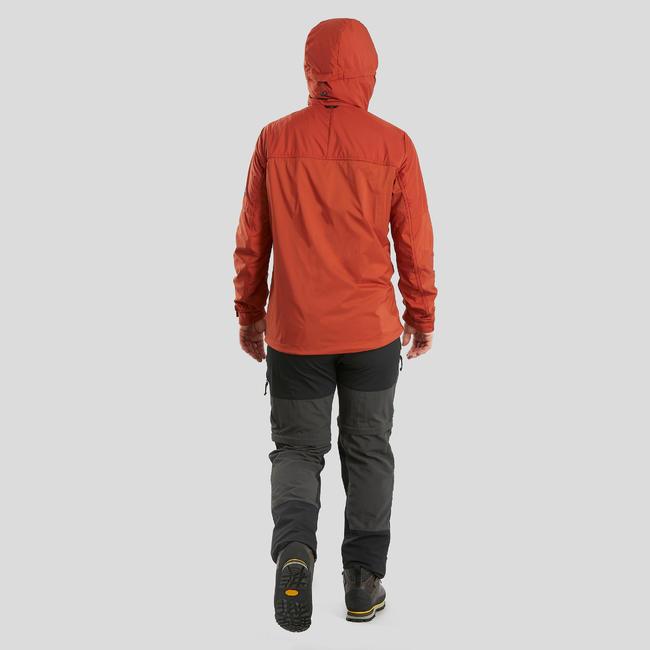 Men's Mountain Trekking Modular Trousers - TREK 500 - Dark Grey