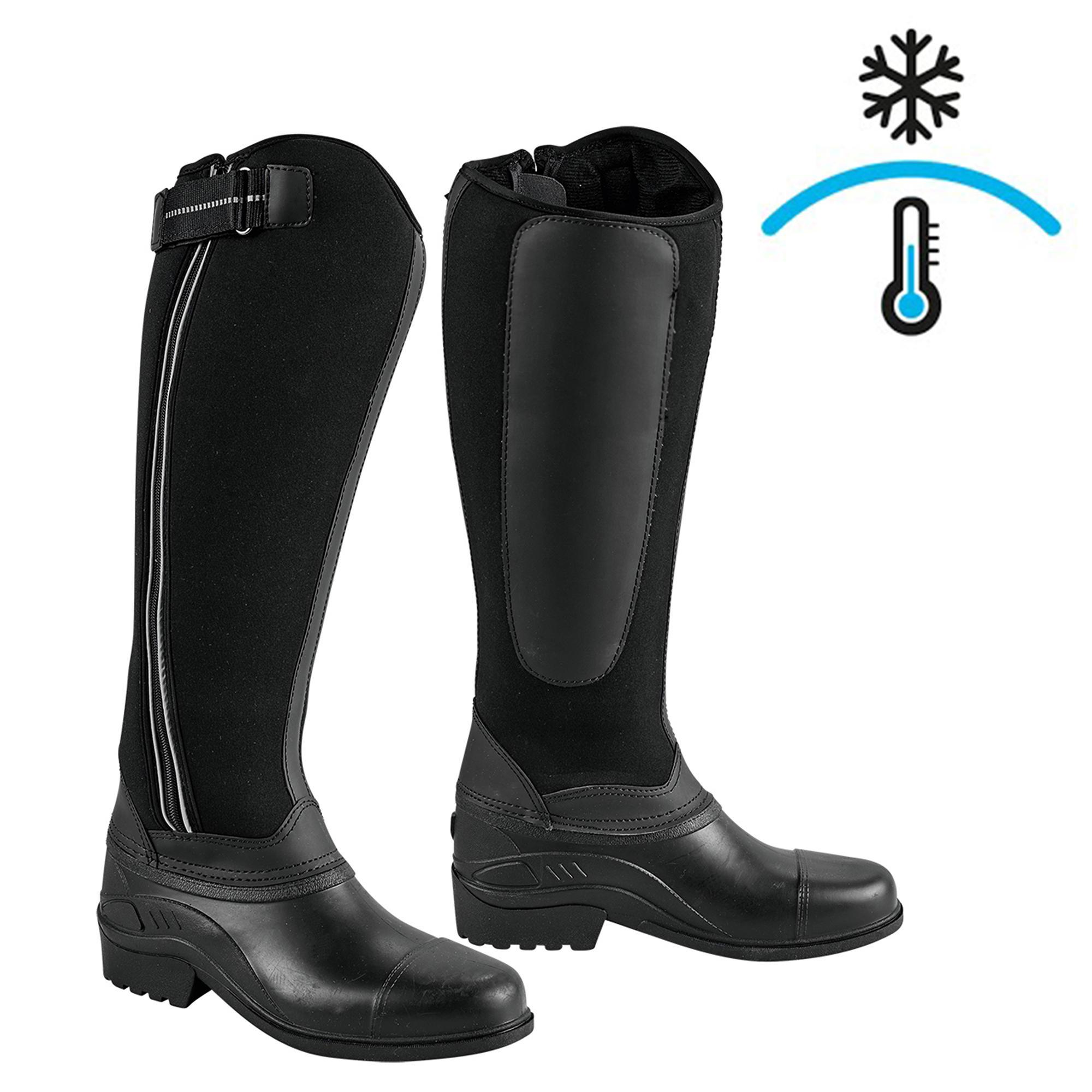 Winter-Reitstiefel Neopren Erwachsene | Schuhe > Sportschuhe > Reitstiefel | Kerbl