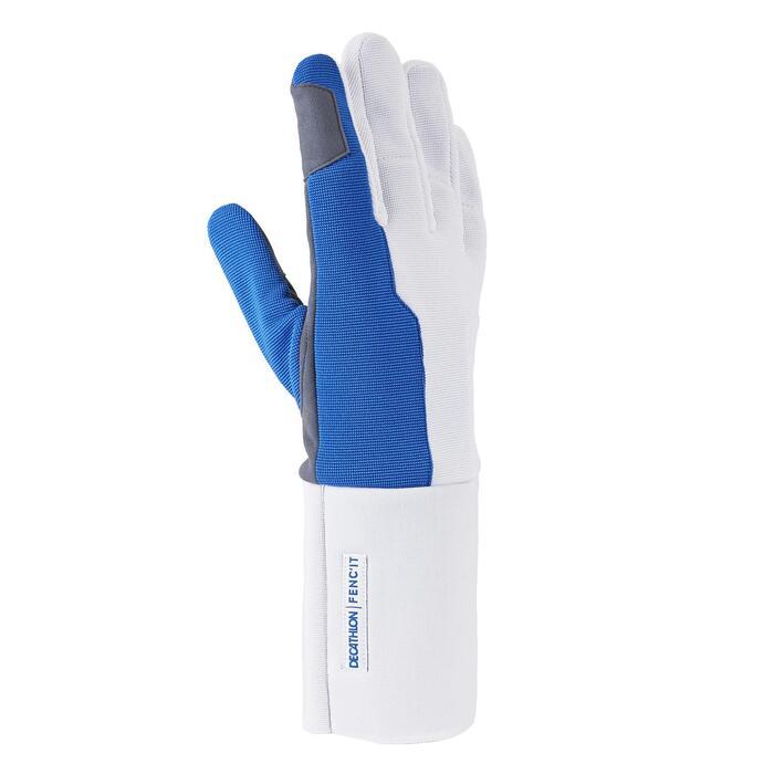 Handschuh für Rechtshänder Degen und Florett Kinder