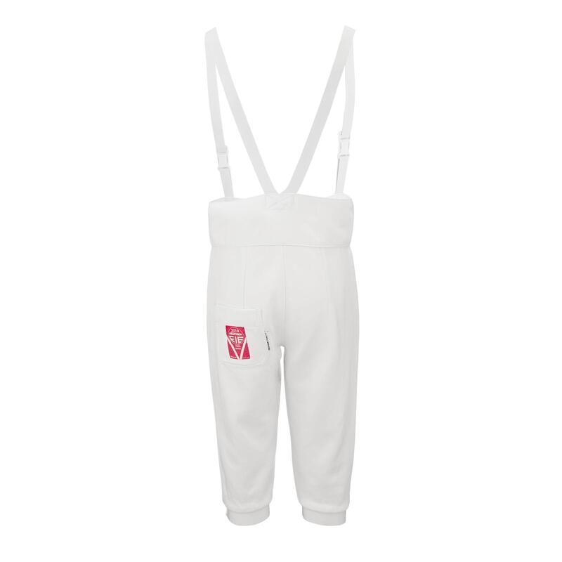 Pantalon d'escrime femme droitière 800N