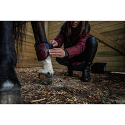 Protège-boulets cheval 500 JUMP bordeaux