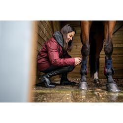 Open peesbeschermers paard 500 Jump bordeaux