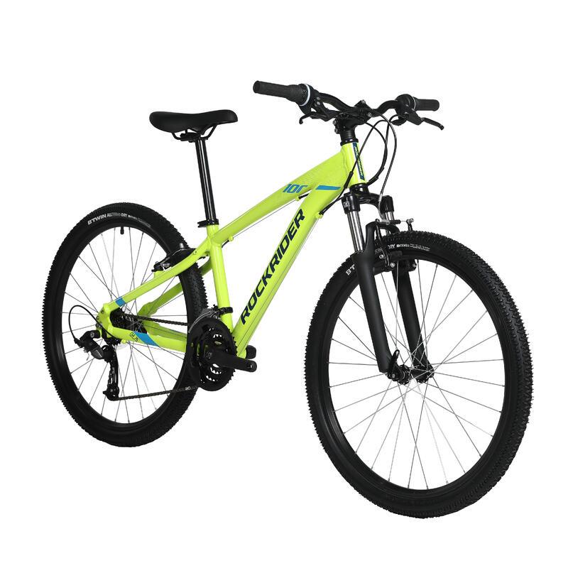 "27.5"" ST 100 Mountain Bike - YELLOW"