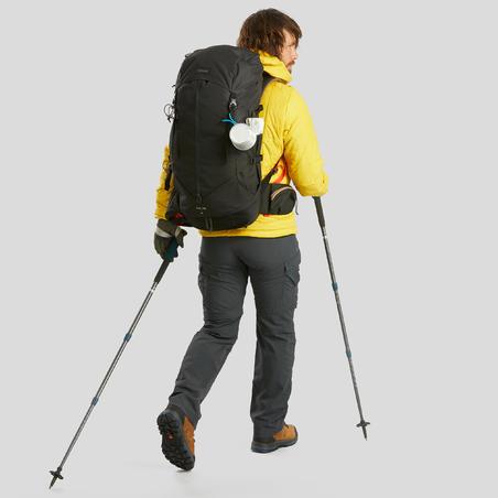 Mochila trekking de montaña para hombre | TREK 100 Easyfit 50 L negro