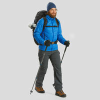 Pantalon modulable randonnée montagne RANDO100 homme gris foncé