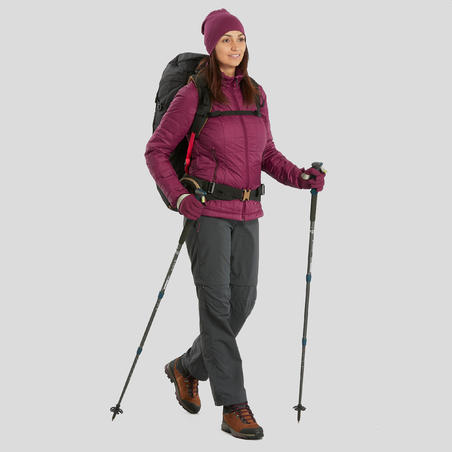 Trek 100 Hiking Leather Boots - Women